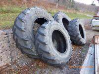 Tractor tyres full set john deere massey ferguson ford etc.