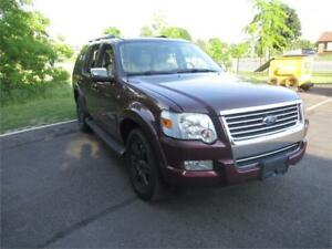 2007 Ford Explorer Limited, certified! 7 seater!