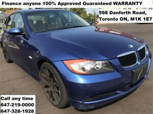 2007 BMW 3 Series 323i FINANCE ANYONE 100% APPROVED WARRANTY