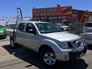 2009 Nissan Navara D40 ST (4x4) Silver 5 Speed Automatic Dual Cab Pick-up Laverton Wyndham Area Preview