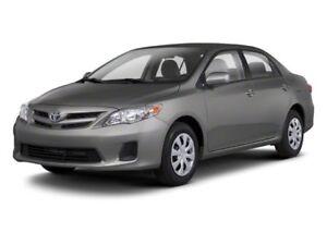 I want Corolla 2013