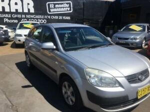 2007 Kia Rio JB LX Silver 5 Speed Manual Hatchback