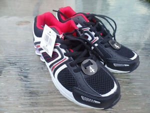 New Athletic Works Youth Shoes - Size 4  Red-Black-White