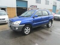 £1795 kia sportage 2005 05,reg 2.0 diesel 1 years mot very good condition/runner all px,s welcome