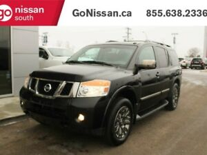 2015 Nissan Armada PLATINUM, AWD, LEATHER, DUAL HEADREST DVD, HE