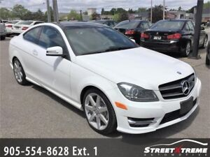 2014 Mercedes-Benz C350 BLUETOOTH CAMERA ACCIDENT FREE PANOROOF