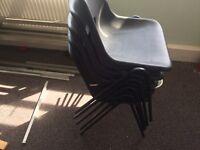 Plastic/ Metal Chairs