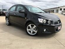 2015 Holden Barina TM MY15 CDX Carbon Flash Black 6 Speed Automatic Sedan Garbutt Townsville City Preview