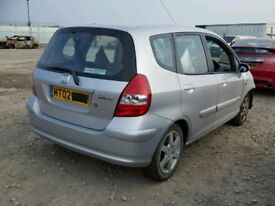 HONDA JAZZ S 2002 REG 1339 CC PETROL 5 DOOR HATCH (BREAKING ALL PARTS AVAILABLE)