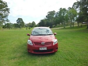 2011 Toyota Corolla ZRE152R MY11 Ascent Red 6 Speed Manual Hatchback Maryborough Fraser Coast Preview