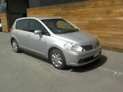 2009 Nissan Tiida C11 MY07 ST Silver 4 Speed Automatic Hatchback Labrador Gold Coast City Preview
