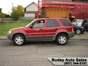 2001 FORD ESCAPE XLT 4X4