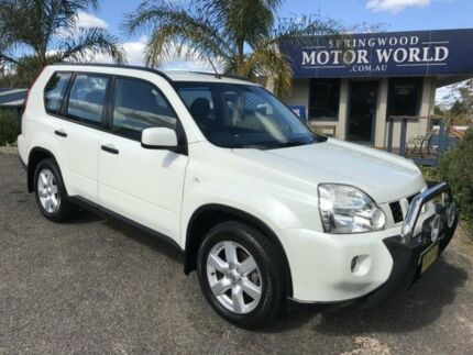 2010 Nissan X-Trail ST White 6 Speed Automatic Wagon