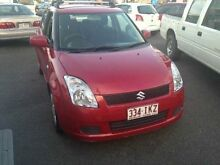 2005 Suzuki Swift RS415 Z Series Red 4 SPEED Automatic Hatchback Greenslopes Brisbane South West Preview