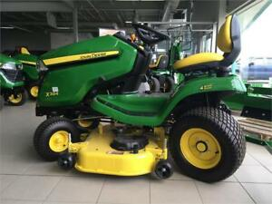 TRACTEUR À GAZON JOHN DEERE X384 NEUF RABAIS ADDITIONNEL DE 500$