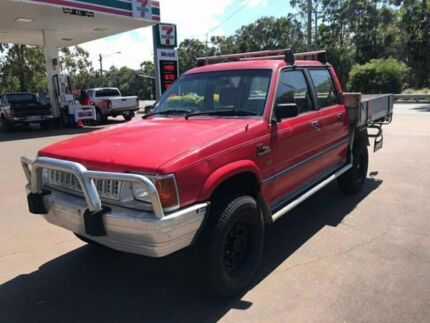 1995 Ford Courier XL - 4X4 -  Dual Cab - Manual - AS IS