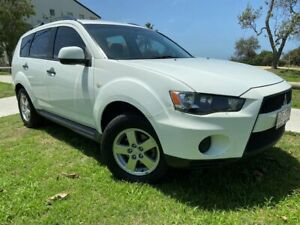 2010 Mitsubishi Outlander ZH MY11 LS 2WD White 6 Speed Constant Variable Wagon Tugun Gold Coast South Preview
