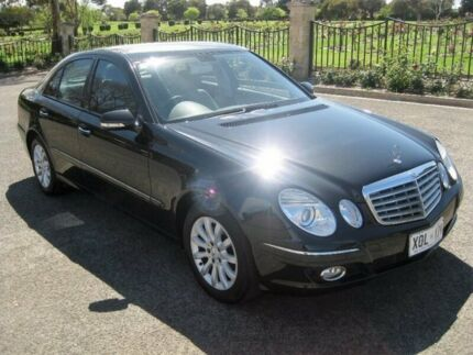 2007 Mercedes-Benz E200 Kompressor W211 MY07 Elegance Black 5 Speed Sports Automatic Sedan Enfield Port Adelaide Area Preview