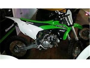 DEMO KAWASKI 100 KX $55 BI-WEEKLY TAX IN