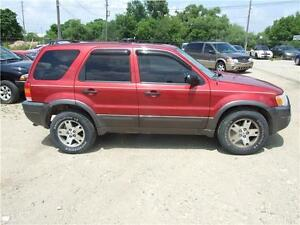2003 Ford Escape XLT Leather Kitchener / Waterloo Kitchener Area image 4