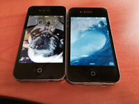 2 iPhones 4s - Perfect condition.  No scratches