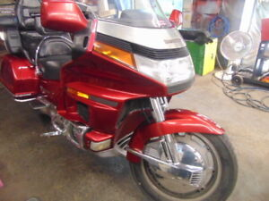 1993 Honda goldwing With Reverse Low Miles
