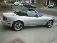 Mk1 Mazda mx5. Eunos Roadster breaking