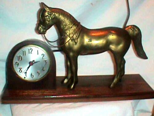HORSE CLOCK Sessions COPPER Metal MODEL W