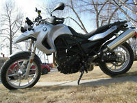 2009 BMW F650GS in brand new condition