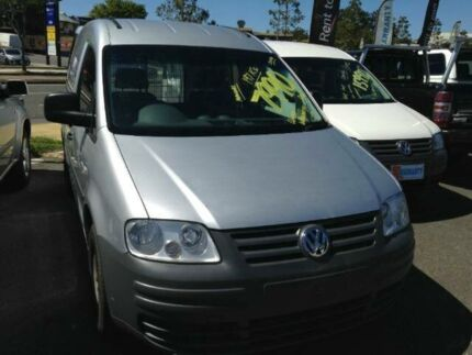 2008 Volkswagen Caddy 2KN SWB Silver 5 SPEED Manual Van Greenslopes Brisbane South West Preview