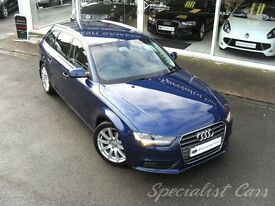 AUDI A4 2.0 AVANT TDI SE TECHNIK 5d 174 BHP WATCH FULL HD (blue) 2014