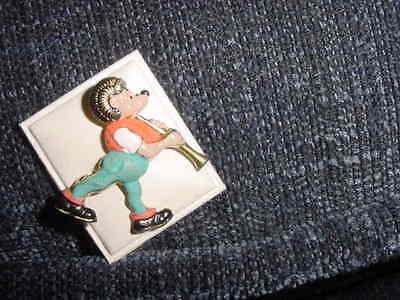 Mecki bekannt aus Hörzu PIN Anstecknadel aus Metall