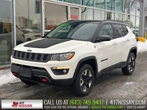 2018 Jeep Compass Trailhawk | Navi, Heated Seats, Rear Camera