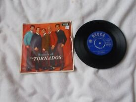 Vinyl 7in EP The Sounds Of The Tornados Decca DFE 8510 Mono