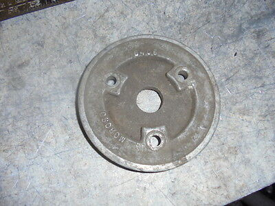"Aluminum Crank Pulley 1 V 5 1/4"" OD Moroso 6406 IMCA IHRA NHRA UMP K&N WISSOTA"