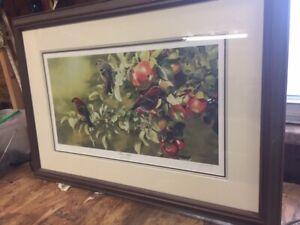 Jose Lapointe print -three apples