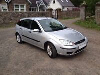 Ford Focus 1.6, Long MOT, Trade-In to Clear, Budget Run-around