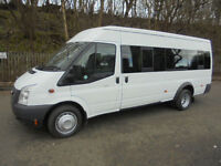 FORD TRANSIT 17 SEATER MINIBUS WITH COIF/PSV TEST £12995+VAT