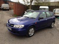 ONLY £595 NISSAN ALMERA 1.5 HATCHBACK - GOOD CHEAP CAR