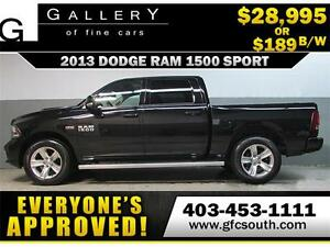 2013 DODGE RAM SPORT CREW *EVERYONE APPROVED* $0 DOWN $189/BW