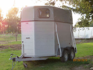 Two Horse Bumper Trailer (light weight) 2014 Stratford Kitchener Area image 4