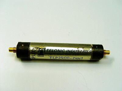 Telonic Tlp2400-2nn1 Low Pass Filter 0360-0163