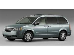 2008 CHRYSLER TOWN AND COUNTRY, DVD, 8 PNEUS