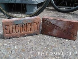 Victorian Electricity Brick / Cable Slab 2 Styles available