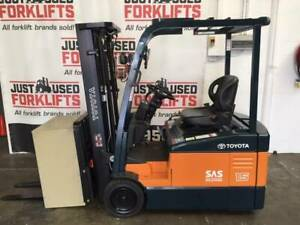 TOYOTA 7FBE15 4300MM # 57038; NEW BATTERY; 3701 HRS @ $13,990 (&GST) Strathfield Strathfield Area Preview