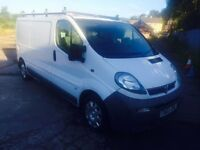 Vauxhall Vivaro LWB with roofrack Good Running Diesel cheap van like trafic transit