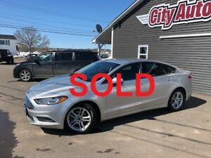 2018 Ford Fusion SE     NEW PRICE!   $21500.00