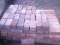 Reclaimed victorian hamd made bricks