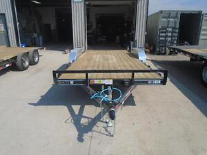 PJ CAR HAULER - 18' LONG QUALITY MADE TRAILER- YOUR LOWEST PRICE London Ontario image 2