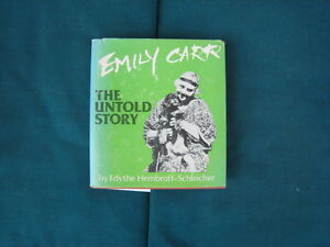 First Edition of Emily Carr The Untold Story